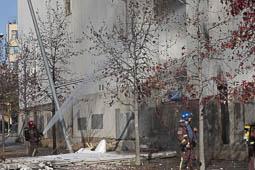 Les millors fotos de la setmana de Nació Digital Dos ferits en una explosió de gas en una empresa de Sabadell.  Foto: Juanma Peláez