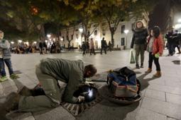 Les millors fotos de la setmana de Nació Digital L'Ajuntament de Sabadell busca, sense èxit, l'origen de les rates que han aparegut al centre de la ciutat.  Foto: Juanma Peláez