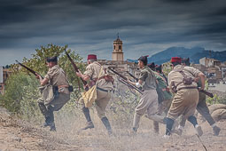 II Recreació històrica de la Batalla de l'Ebre al Pinell de Brai