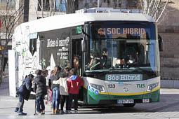 Les millors fotos de la setmana de Nació Digital Sabadell estrena el primer bus híbrid. Foto: Juanma Peláez