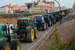 Les millors fotos de la setmana de Nació Digital Els tractors de la Marxa Pagesa continuen les rutes per arribar aquest dissabte a Barcelona.Foto: Sofia Cabanes
