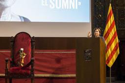 Les millors fotos de la setmana de Nació Digital «Vius en totes les causes que vas defensar»: l'emotiu homenatge de Junts pel Sí a Muriel Casals.Foto: Eva Domínguez