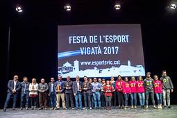 Les millors fotos de la setmana de Nació Digital La Festa de l'Esport Vigatà premiarà els millors esportistes de l'any.Foto: Josep M. Montaner