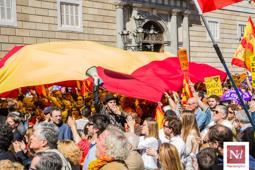 Les millors fotos de la setmana de Nació Digital Societat Civil Catalana només reuneix 6.500 persones per aturar «el cop» del procés.Foto: Jordi Jon Pardo