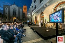 Les millors fotos de la setmana de Nació Digital Sabadell distingeix Muriel Casals amb la Medalla al Mèrit Ciutadà.</br>Foto: Juanma Peláez