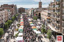 Les millors fotos de la setmana de Nació Digital Sant Jordi a Sabadell.Foto: Juanma Peláez