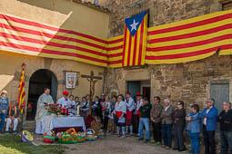 Les millors fotos de la setmana de Nació Digital Aplec a l'ermita de Sant Sebastià.Foto: Josep M. Costa