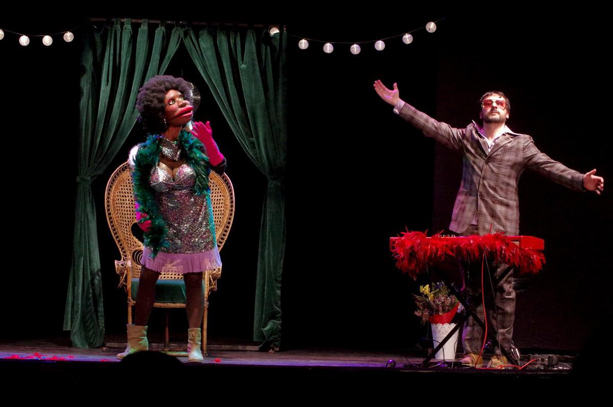 Les millors fotos de la setmana de Nació Digital La diva «Mrs. Brownie» debuta a l'ETC de Vic.Foto: Joan Parera