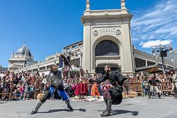 Les millors fotos de la setmana de Nació Digital Medièvalia assalta el centre de Sabadell.Foto: Juanma Peláez