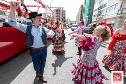 Les millors fotos de la setmana de Nació Digital L'Agrupació Andalusa San Sebastián de Los Ballesteros celebra la tradicional romeria pels carrers de Sabadell.Foto: Juanma Peláez