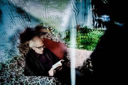 Les millors fotos de la setmana de Nació Digital Lluís Solà: poeta, pensador, traductor, dramaturg i apologista de la llibertat.Foto: Adrià Costa