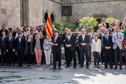 Les millors fotos de la setmana de Nació Digital «Voleu que Catalunya sigui un estat independent en forma de república?»: el referèndum de l'1 d'octubre.</br>Foto: Adrià Costa