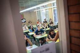 Les millors fotos de la setmana de Nació Digital La nova selectivitat posa a prova 32.000 estudiants aquesta setmana.Foto: Martí albesa