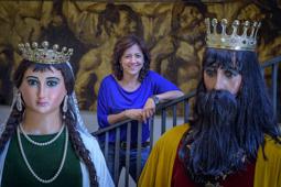 Les millors fotos de la setmana de Nació Digital Anna Erra: «Tirem pel dret en la implementació del porta a porta al casc antic».Foto:  Josep M. Montaner