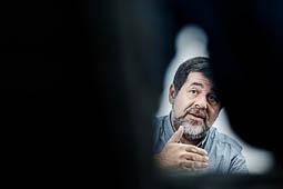 Les millors fotos de la setmana de Nació Digital Jordi Sànchez: «L'única esperança de l'Estat és que guanyi el 'no'».Foto: Adrià Costa