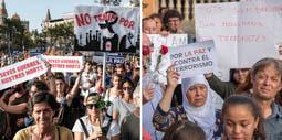 Les millors fotos de la setmana de Nació Digital Barcelona i Ripoll, un clam contra el terrorisme. Fotos: Adrià Costa i Josep M. Montaner