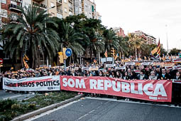 Manifestació per la llibertat dels presos polítics