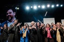 Eleccions al Parlament 2017: acte final d'ERC a Sant Vicenç dels Horts