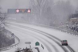 Les millors fotos de l'any de NacióDigital La nevada ha provocat problemes a una vintena de carreteres del nord del país.Foto: Adrià Costa