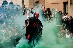 Les millors fotos de l'any de NacióDigital Centelles celebra el 20è Cau de Bruixes amb més gent que mai.Foto: Adrià Costa