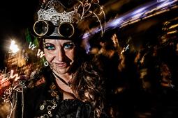 Les millors fotos de l'any de NacióDigital La Rua de l'Extermini posa punt final al multitudinari Carnaval de Sitges.Foto: Adrià Costa