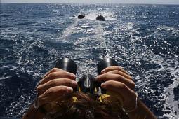 Les millors fotos de l'any de NacióDigital Diari de bord al vaixell de Proactiva.Foto: Sergi Cámara