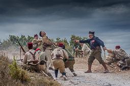 Les millors fotos de l'any de NacióDigital Recreació històrica de la Batalla de l'Ebre al Pinell de Brai.Foto: Josep M. Montaner