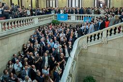 Les millors fotos de l'any de NacióDigital El Parlament declara la independència.Foto: Josep M. Montaner