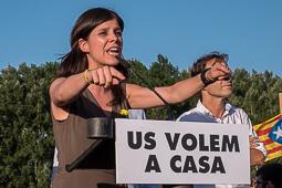 Els presos ja són a Catalunya-Concentració a Lledoners