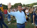 I Aplec per la Independència a Arenys de Munt Joan Laporta