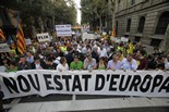 Diada Nacional: manifestació 1