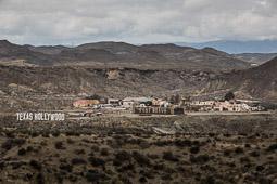 Eleccions andaluses 2015 Fort Bravo a Tabernas, els decorats dels «spaghetti-western» rodats al desert d'Almeria.