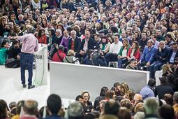 Eleccions andaluses 2015 Ambient de l'acte final de campanya del PSOE a Sevilla.