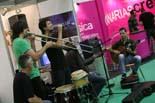 Mercat de Música Viva 2010: divendres 17 Els Cremats. Foto: Adrià Costa