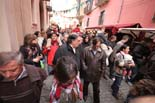 Mercat Medieval de Vic: passeig inaugural