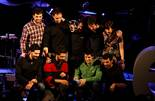 Premis Enderrock 2012 Els integrants d'Anna Roig i l'Ombre de Ton Chien han rebut el Premi Enderrock 2012 per votació popular al millor disc, 'Bigoti vermell' i al millor directe de cançó d'autor, que els han entregat Els Amics de les Arts