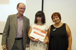 Premis Ficcions.cat i Deià Josep Ritort i Antònia Cortijos lliuren els diplomes als finalistes de Ficcions.cat.
