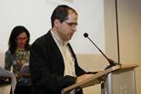 Premis Ficcions.cat i Deià Ricard Roura, director de l'escola de disseny Deià, coorganitzador del concurs Deià.