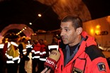 Simulacre d'accident de trànsit al túnel de Casserres Carles Garcia Leiva, cap d'operacions de la regió d'emergències centre.