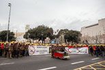 Manifestació de Bombers de la Generalitat de Catalunya