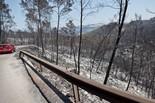 L'incendi de l'Alt Empordà des de Terrades i Boadella