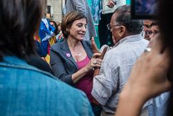 Eleccions 27-S: míting de Junts pel Sí a Vic