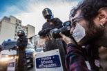 Manifestació en contra la «llei mordassa»
