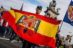 Marxa ultra del 12-O a Barcelona