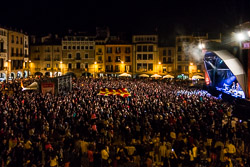 Mercat de Música Viva de Vic 2015 Vista de la Plaça Major de Vic