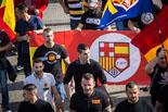 12-O: manifestació feixista a Montjuïc