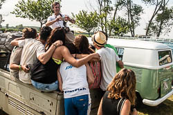 Concentració de furgonetes VolksWagen a Sant Pere Pescador