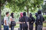 Aldarulls a la vaga d'estudiants a la UAB
