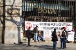 Vaga general al centre de Barcelona