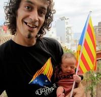Via Catalana - Fotos dels lectors Àlex i Martí Cardona - Preparats per anar al TRAM 423 - Badalona